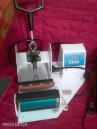 Máquina estampar canecas