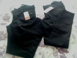 Lote de calça, saias e short jeans