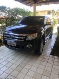 Ranger 2013 xlt, com gnv - 2013