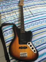 Baixo Fender Jaguar Squier Vintage Modified Special Sunburst