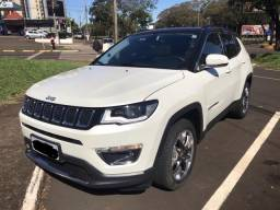 Jeep Compass Limited Flex, Teto Panorâmico 2017/18 - 2018