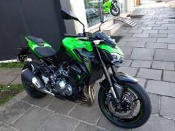 Kawasaki Z 900 2018 verde com apenas 4.190 km rodados - 2018