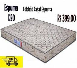 Excelente Oferta de Colchão Casal DN-20 Novo no Plastico Apenas 399,00