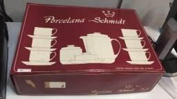 Jogo de cha em Porcelana Schmidt