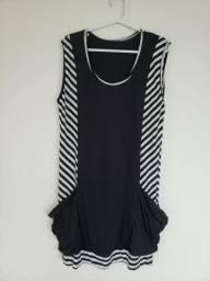 Vestido Preto de Verão