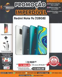 Xiaomi redmi note 9s 128 gb /6 de ram blue , grey