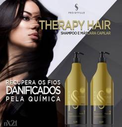 Kit Therapy Hair Shampoo 2,5LT + Mascara Capilar 2,5LT