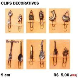 Clips Decorativos - Par