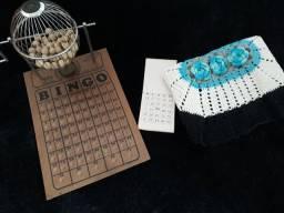 Bingo profissional com cartela