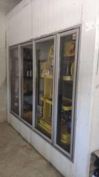 Câmara fria 5x2,5x3