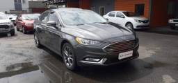 FORD FUSION SEL FWD 2.0 16V GTDI AT Cinza 2016/2017