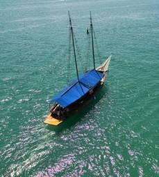 Locação de Escuna Ibiza-Paraty-RJ diária ou pernoite