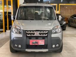 Fiat doblo 11/2012 adventure locker 1.8 flex 6 lugares