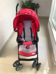 Carrinho de Bebê Burigotto Sunshine 5053 Vermelho