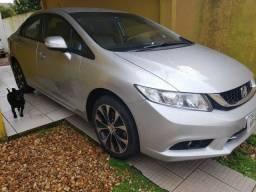 Honda Civic LXR flex one 2015 abaixo da fipe 56100