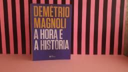 Livro: A Hora e a História (Demétrio Magnoli) Ed. Três Estrelas