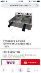 Fritadeira elétrica Skimsen 110v 10 litros