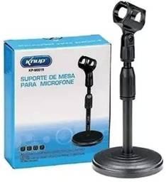 Suporte de Mesa para Microfone De Mesa Knup KP-M0019