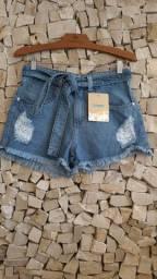 Shorts, saias e calças jeans (A partir de R$45,00)