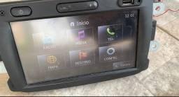 Mídia Nav rádio gps com antena Bluetooth