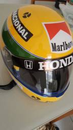 Capacete do Ayrton Senna