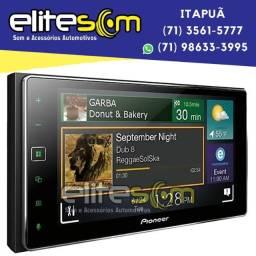 Central Multimídia Pioneer Sph-da138TV Tela 6,2 Espelhamento instalada na Elite Som