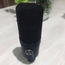 Microfone audio technica at4033/cl-a escolha dos maiores estúdios
