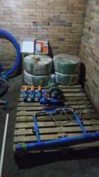 Irrigaçao por aspersão nunca usada