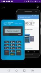 Maquininha Point Mini via Bluetooth (TEMOS ATACADO)