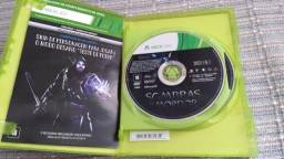 Jogo Sombras Mordor para XBOX 360 na caixa, semi novo.