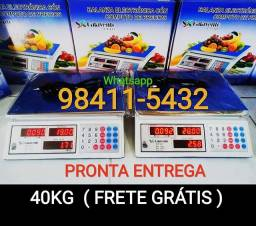 Balança comercial eletrônica digital 40kg ( NOVAS COM GARANTIA)