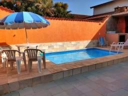 Alugo casa com piscina em Praia Grande -SP