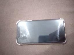 iPhone XR preto 128gb semi novo