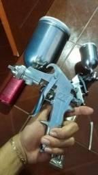 Pistola de pintura automática 2 peças