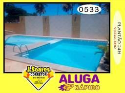 Cabo Branco, Mobiliado, 2 vgs, 4 suítes, 200m², R$ 4500, Aluguel, Apartamento, João Pessoa