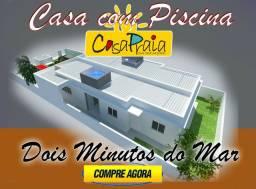 Casa com piscina financiada pela caixa em Ponta de Pedras