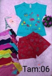Conjuntos infantis femin/Masc