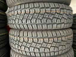 Título do anúncio: 02 pneus 205/70/15 instalados ( eco tyres )