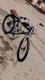 Vendo bike motorizada  preço a negociar