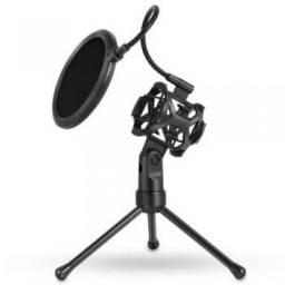 Suporte tripe Microfone condensador tomate mt-1024