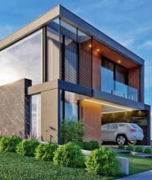 Lote + construção de alto padrão no Alphaville, casa com 300 m2 de área construída