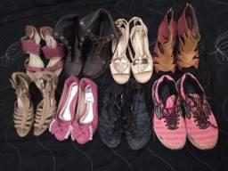 Sapatos n35 lote por 50,00