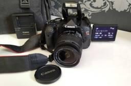 Canon EOS T3i - Novíssima com apenas 1.380 cliques