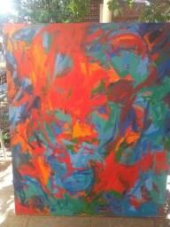 Quadro de Arte pintura a oleo 136 cm x 121 cm