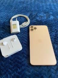 iPhone 11 ProMax 64gb Gold seminovo