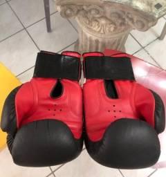 Par de luvas de boxe profissional!
