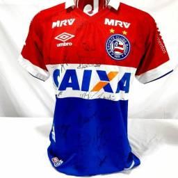 Camisa Bahia jogo 2016 Jogo 30 Eder
