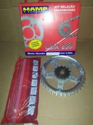 Kit transmissão CBX 250 Twister