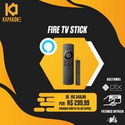 Fire Stick Tv- com Alexa