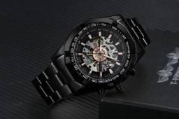 Relógio Automático Forsinings Millionaire - preto
